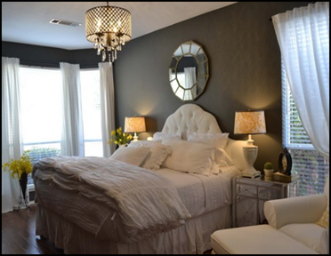 Luxurious Master Bedroom With Luxury Details